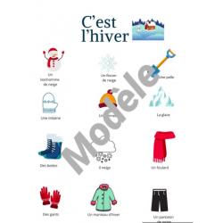 Vocabulaire- Hiver