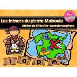 Les trésors du pirate Maboule