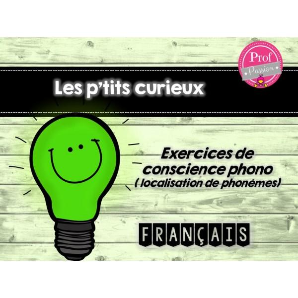 Les p'tits curieux français / les phonèmes