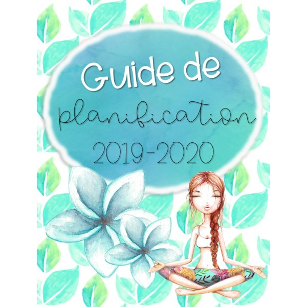 Planificateur 2019-2020 / 4AM+2PM / 2 récrés