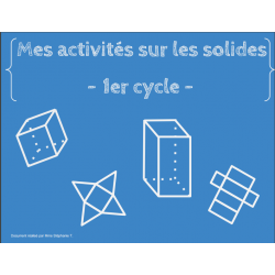 Les solides - 1er cycle