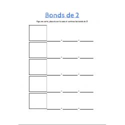 Bonds de 2, 5 et 10