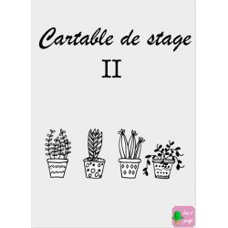 Couverture de cartable de stage II
