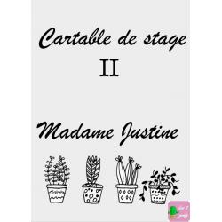 Couverture cartable de stage (modifiable)