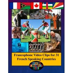 Les pays francophones - vidéos pour