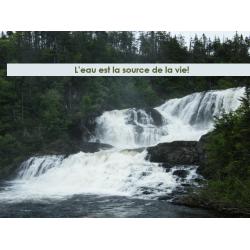 L'eau, source de vie (avec liens PFEQ)
