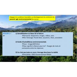 Éducation aux changements climatiques (résumé)