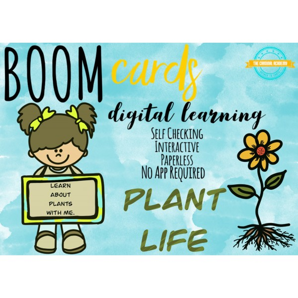 All About Plant's Life - Boom Cards