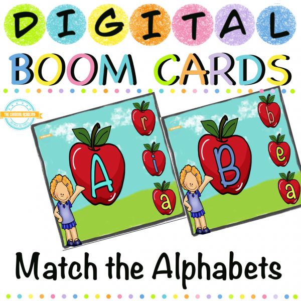 Match The Alphabets - Boom Cards ™