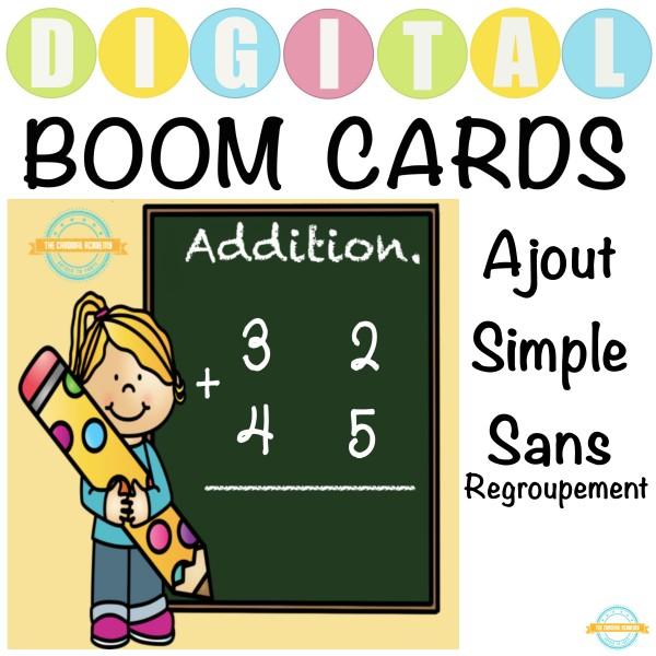 Addition à deux chiffres - Boom Cartes™