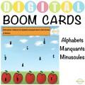 Alphabets Manquants Minuscules - Boom Cartes ™