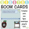 Compter avec la droite numérique - Boom Cartes™