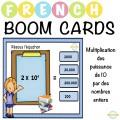 Multiplication par puissances de 10 - Boom Cartes™
