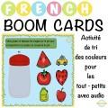 Activité de tri des couleurs - Boom Cartes™