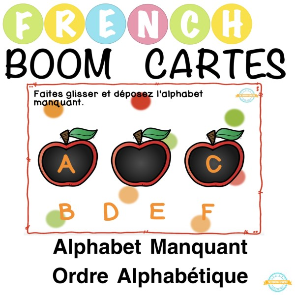 Alphabet Manquants - French Boom Cartes