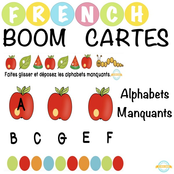 Alphabets Manquants - French Boom Cartes
