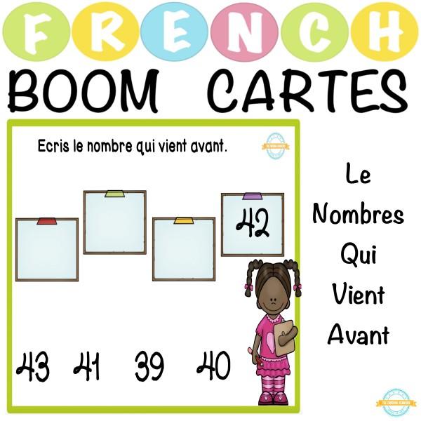 Le Nombres Qui Vient Avant - French Boom Cartes™