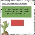 Décomposition de Nombre jusqu'à 12 chiffres