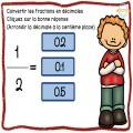 Convertir les fractions en décimales
