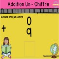 Addition par 0 - Addition d'un chiffre