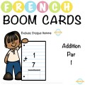 Addition par 1 - French Boom Cards™
