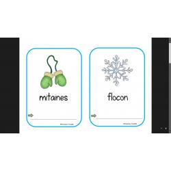 Mots-étiquettes hiver a recopier