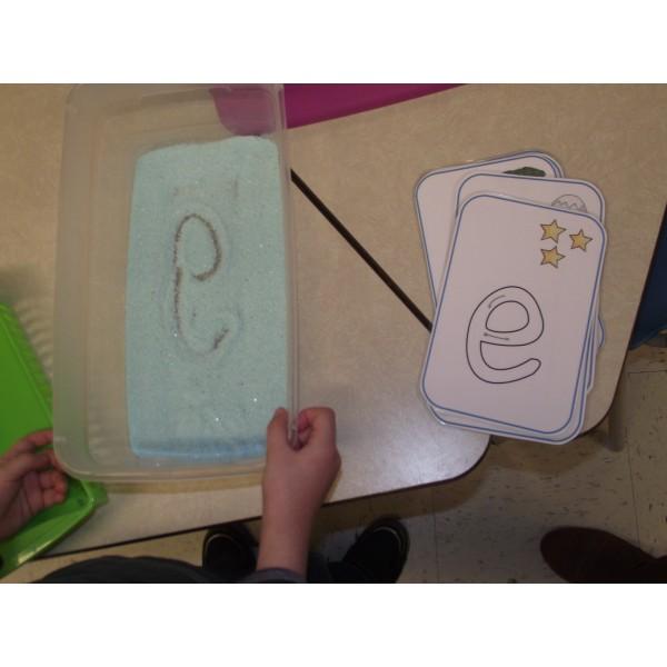 Lettres pour petits ateliers