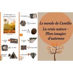 Imagier des éléments de la nature d'automne
