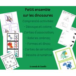 Petit ensemble sur les dinosaures