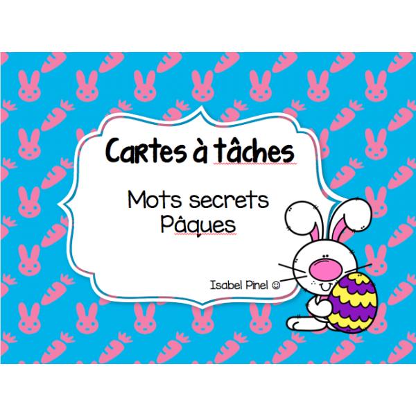 Mots secrets Pâques