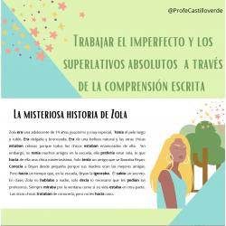 La misteriosa historia de Zola (espagnol)