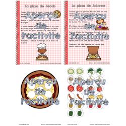 Atelier de lecture: Les recettes de pizza