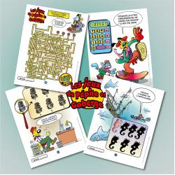 Les jeux de Pépite et Goberge cahier 1