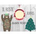 Affiches décompte de Noël