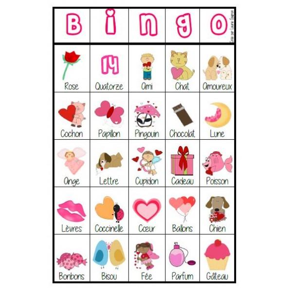 Bingo Saint-Valentin