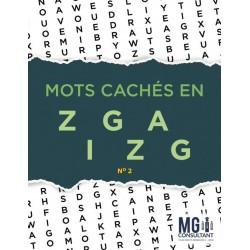 Mots cachés en zigzag - no 2