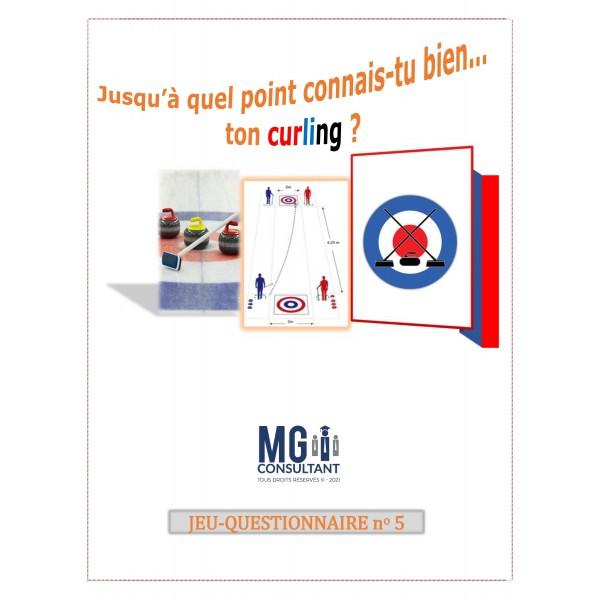 Jeu-questionnaire sur le curling