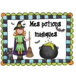 Atelier : Mes potions magiques
