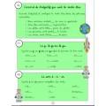Cahier de devoirs de la 2e année
