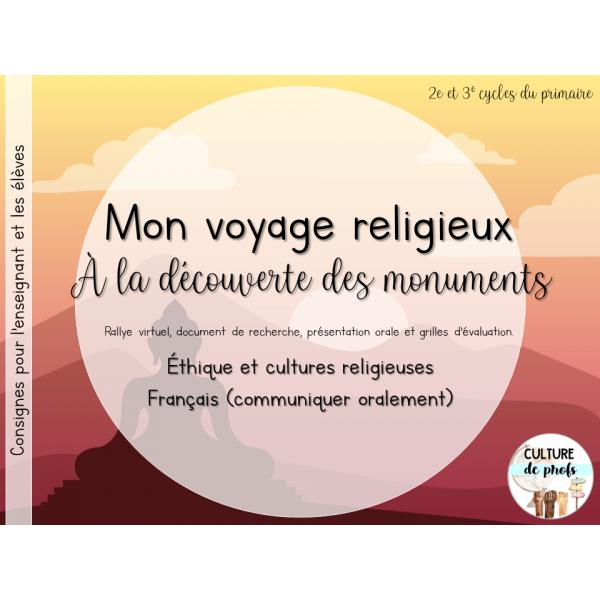 À la découverte des monuments religieux