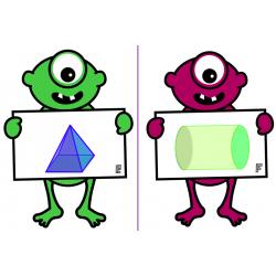 Les solides géométriques Jeu de cartes