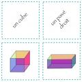 Mémory des figures géométriques et des solides
