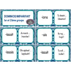 Dominos Imparfait 1er et 2ème groupe