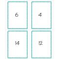 Tables de multiplication JEU Recto-Verso