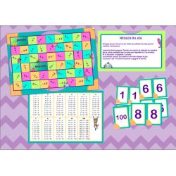 Multiplication - Jeu de plateau