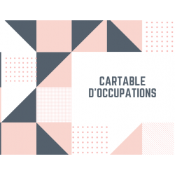 Cartable d'occupation (busy book) FPT