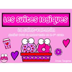 Atelier suites logiques - Saint-Valentin