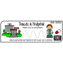 Tracés à l'hôpital - Atelier préscolaire