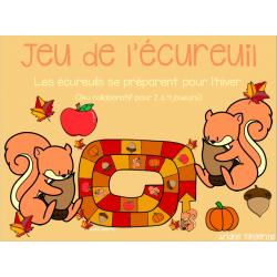 Jeu de l'écureuil - thème automne (préscolaire)