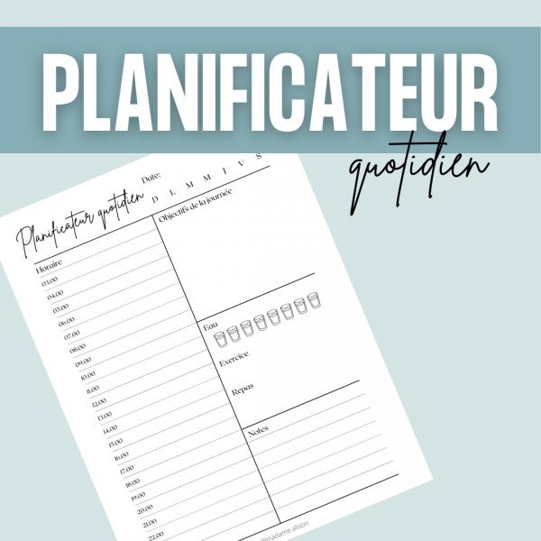 Planificateur quotidien GRATUIT